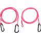 Swimrunners Hook-Cord Pull Belt 3 meter Pink